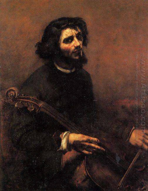 The Cellist Self Portrait 1847