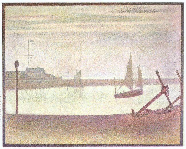 The Channel At Gravelines Evening 1890