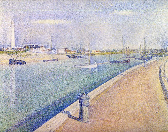 The Channel Of Gravelines Petit Fort Philippe 1890