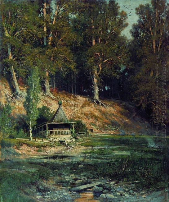 The Chapel In Forest 1893