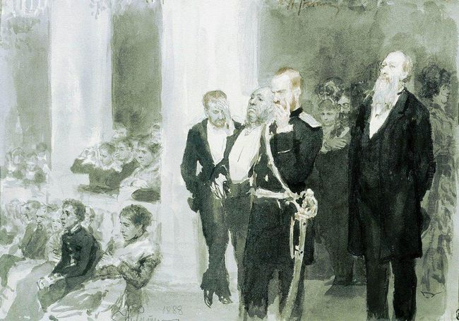 The Concert In The Assembly Of Nobility 1888