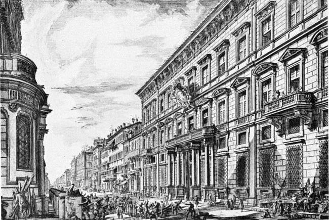 The Corso In Rome