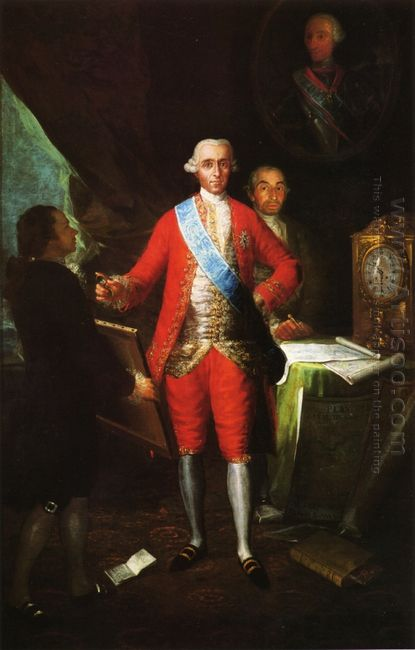 The Count Of Floridablanca 1783