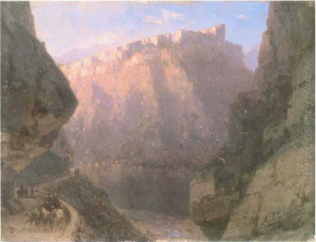 The Daryal Canyon 1855