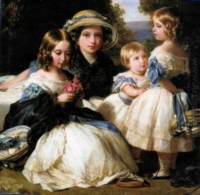 The Daughters Of Queen Victoria And Prince Albert