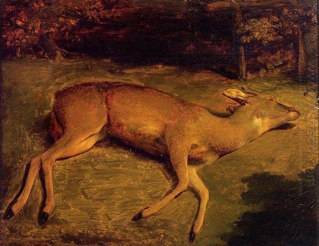 The Dead Doe 1857