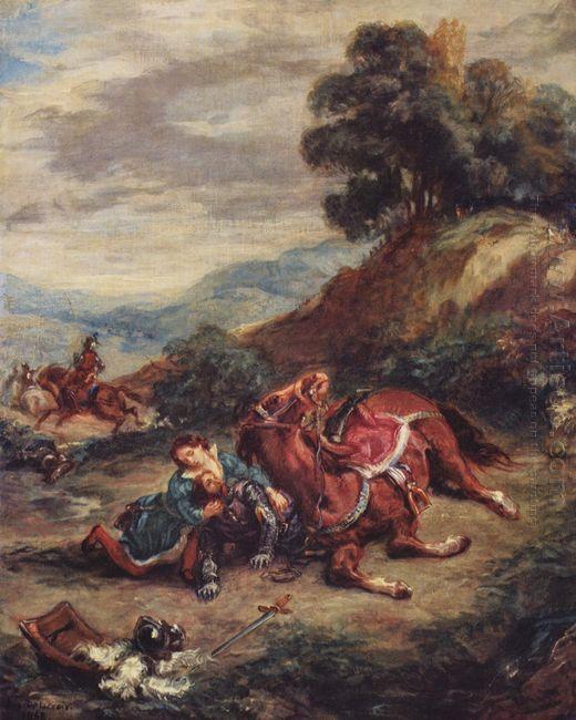 The Death Of Laras 1858