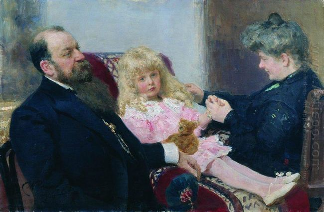 The Delarov Family Portrait 1906