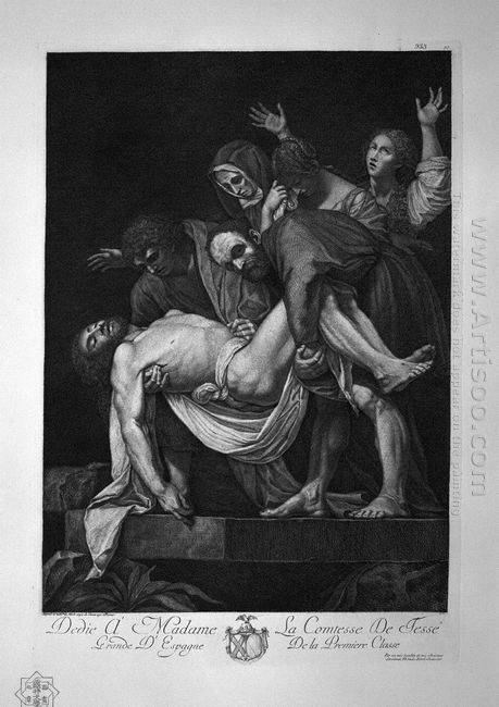 The Deposition Of Michelangelo Da Caravaggio