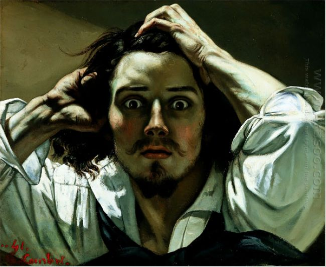 The Desperate Man Self Portrait 1845