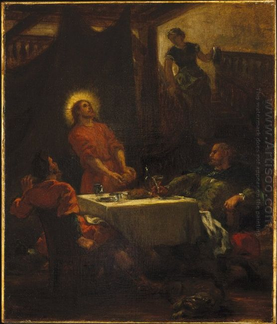 The Disciples At Emmaus 1853