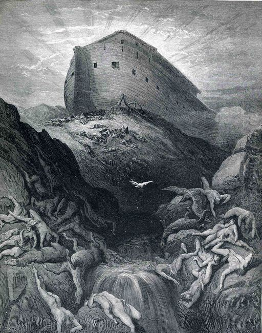 The Dove Sent Forth From The Ark 1866