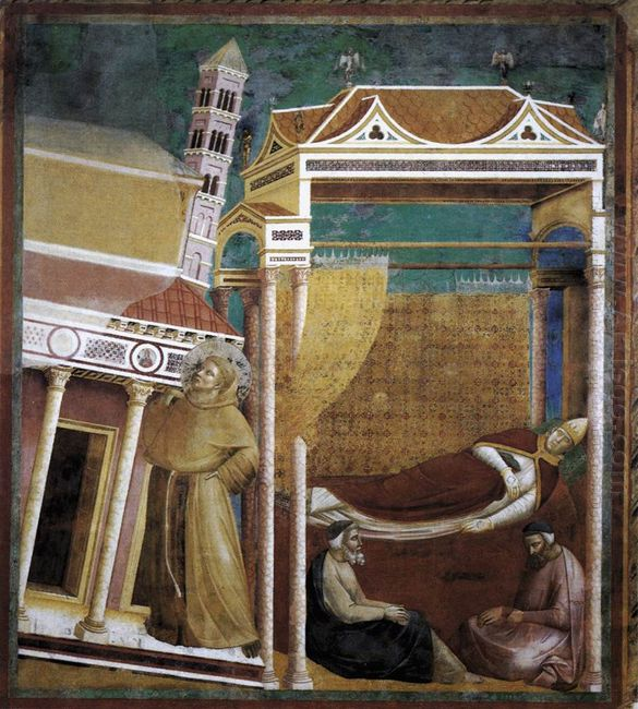 The Dream Of Innocent Iii 1299