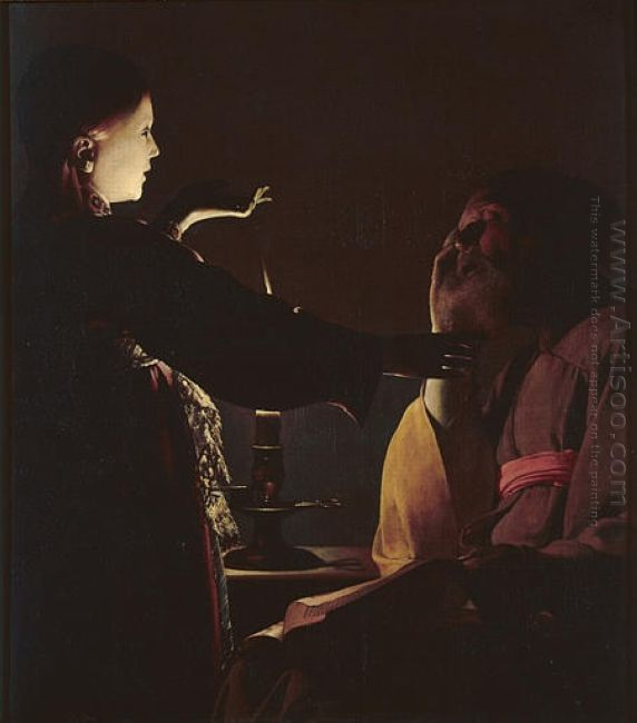 The Dream Of Saint Joseph 1635