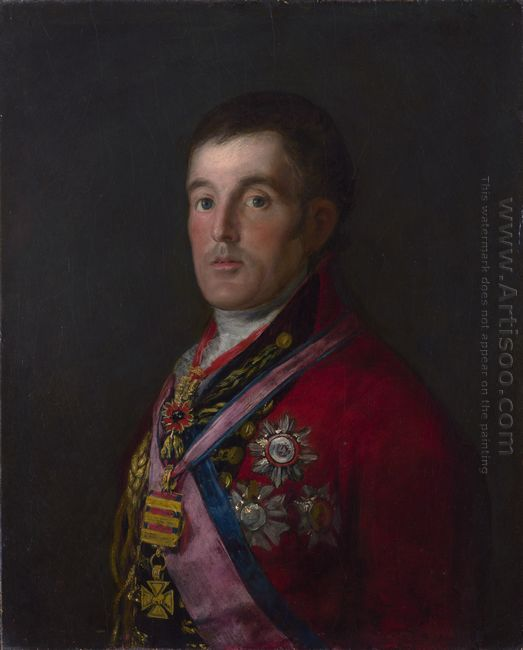 The Duke Of Wellington 1814