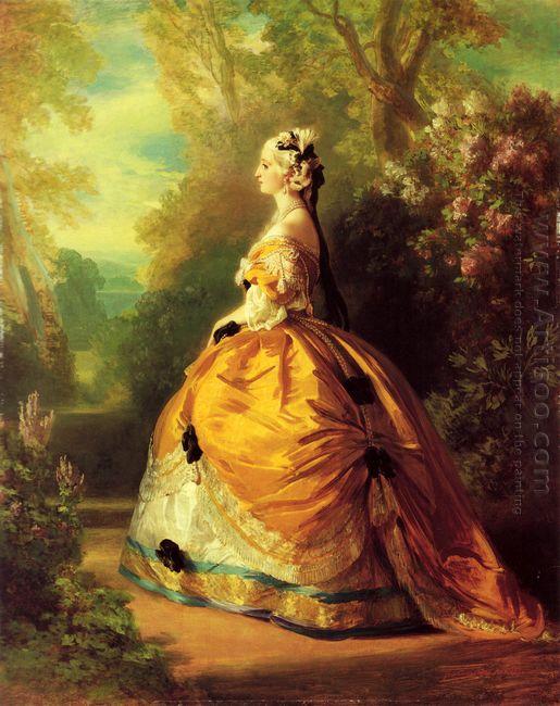 The Empress Eug Nie 1854