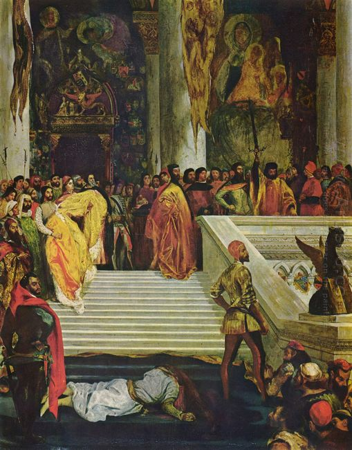 The Execution Of The Doge Marino Faliero 1826