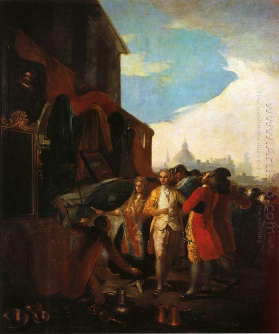 The Fair At Madrid 1779