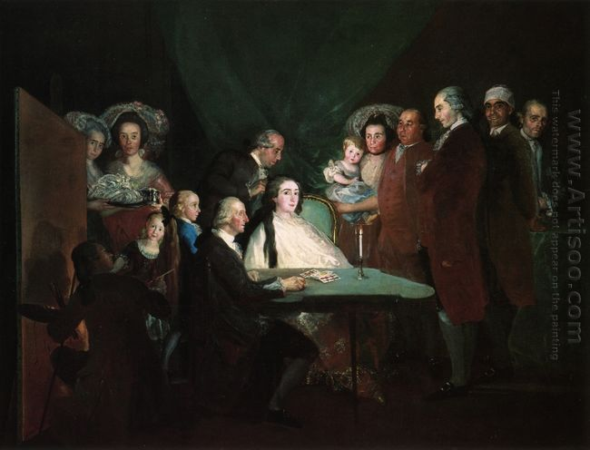 The Family Of The Infante Don Luis 1784