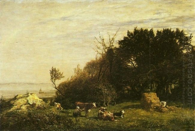 The Farm In Saint Siméon 1856