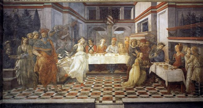 The Feast Of Herod Salome S Dance 1464