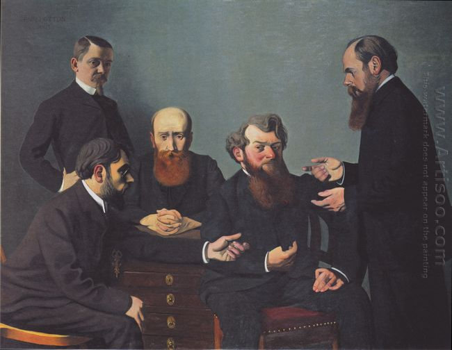 The Five Painters 1902