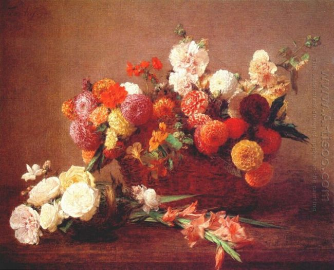 The Flowers Of Middle Summer 1890