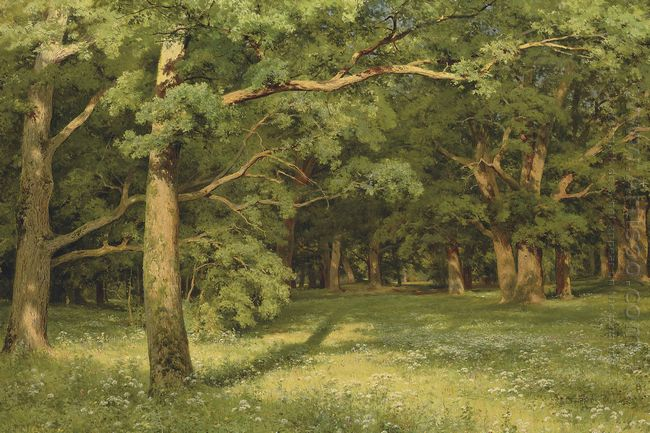 The Forest Clearing 1896