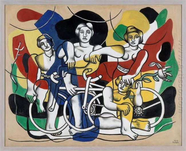 The Four Cyclists