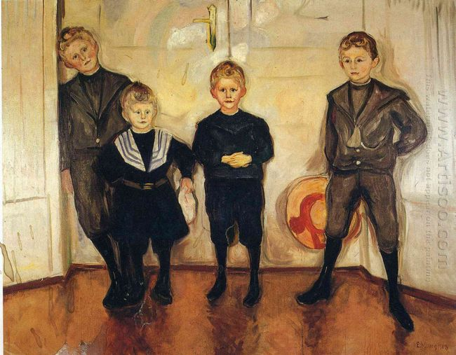 The Four Sons Of Dr Linde 1903