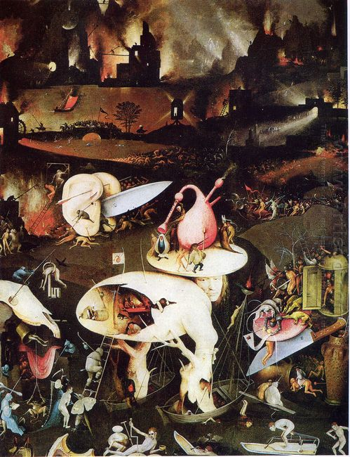 The Garden Of Earthly Delights 1515 4