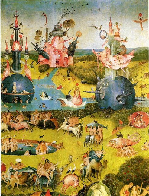 The Garden Of Earthly Delights 1515 5