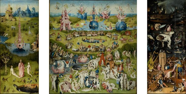 The Garden Of Earthly Delights 1515 7