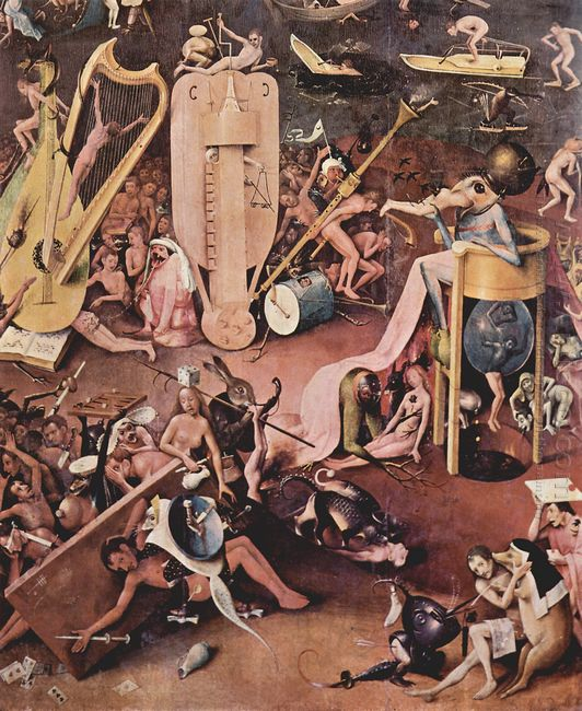 The Garden Of Earthly Delights 1515 8