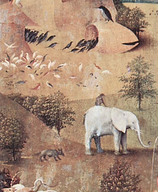 The Garden Of Earthly Delights 1516 4