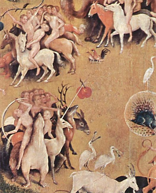 The Garden Of Earthly Delights 1516 8
