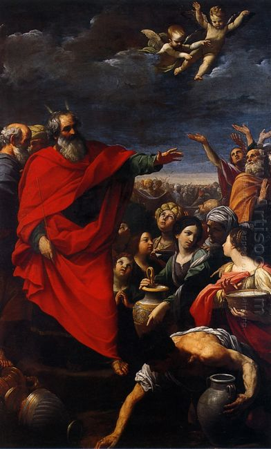 The Gathering Of The Manna 1621