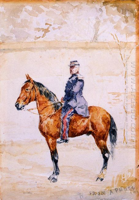 The General At The River 1882
