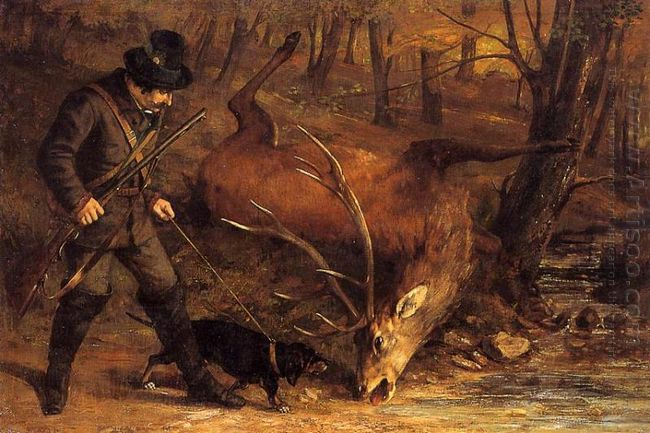 The German Huntsman 1859
