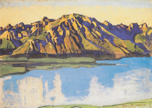 The Grammont In The Morning Sun 1917