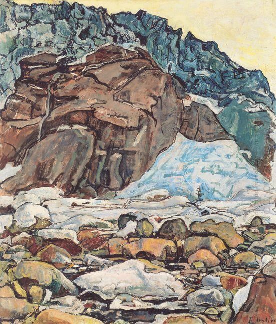 The Grindelwald Glacier 1912