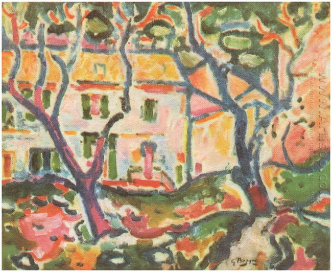 The House Behind The Trees 1906