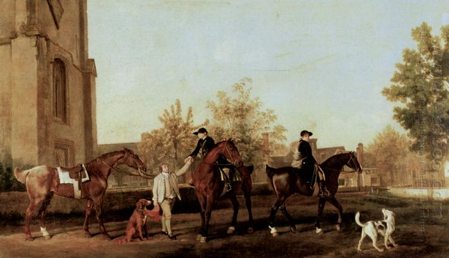 The Hunters Leave Southill 1768