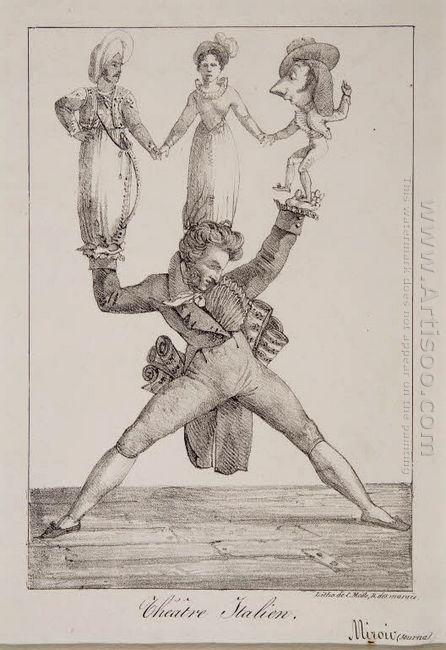 The Italian Theatre 1821