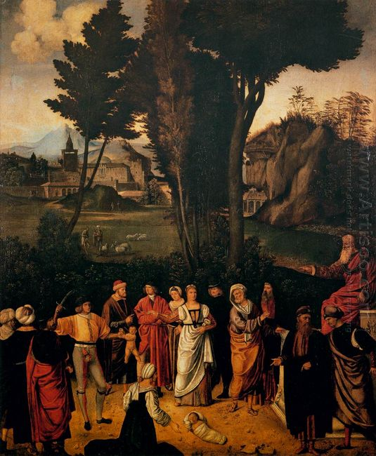 The Judgement Of Solomon 1505