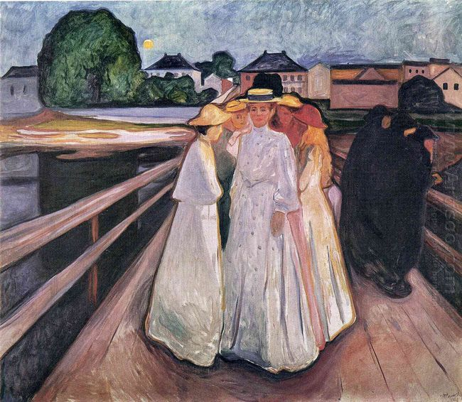 The Ladies On The Bridge 1903