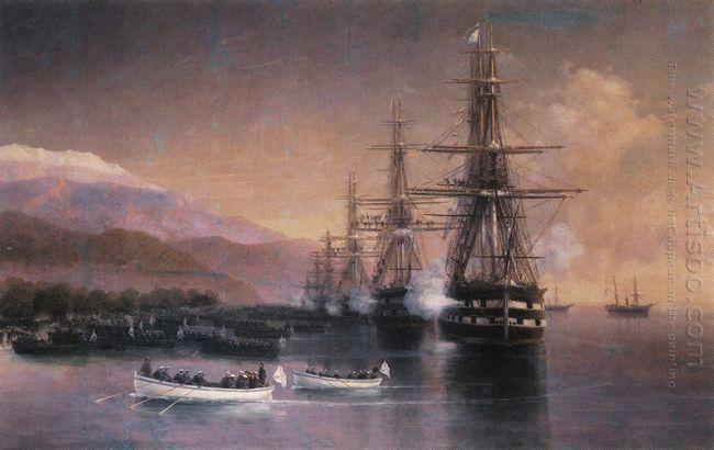 The Landing To Subashi 1880
