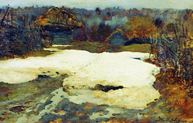 The Last Snow Village Savvinskaya 1884