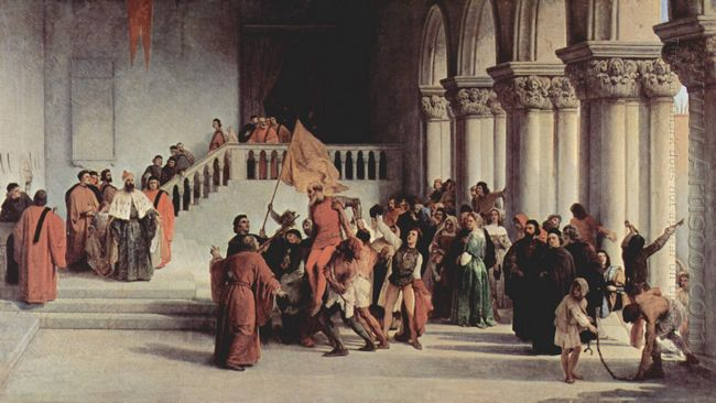 The Liberation From The Prison Of Vettor Pisani 1840