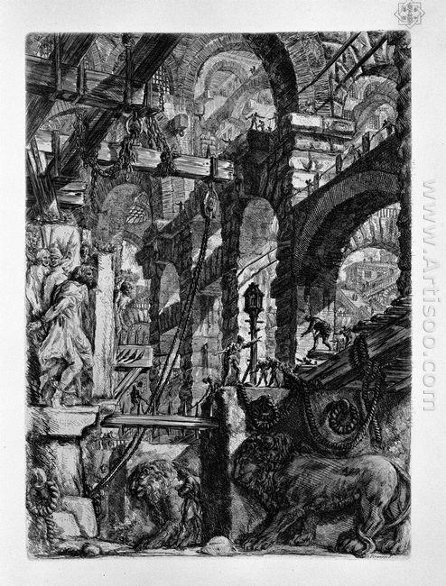 The Lion Bas Reliefs